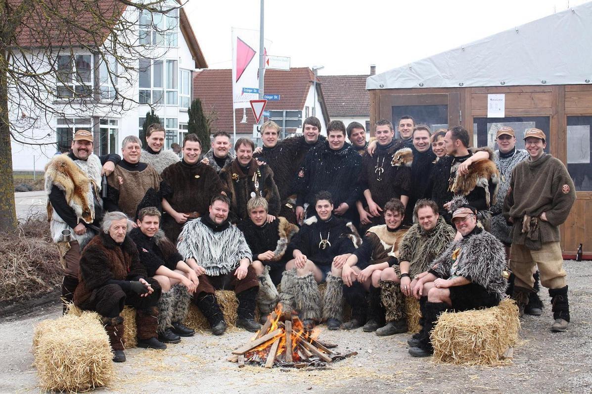 Gruppenbild der Germanen